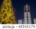 クリスマスツリー クリスマス 冬の写真 46545179
