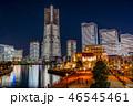 海 高層ビル 都会の写真 46545461