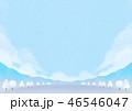 背景素材 野外イベント 冬 46546047