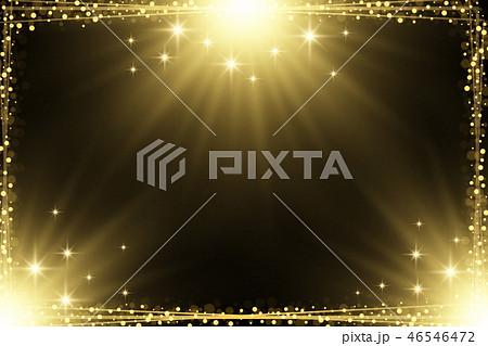 Sparkling magical square frame design 46546472