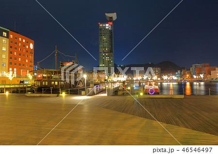 冬の門司港レトロ 福岡県北九州市門司区 46546497