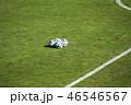 ボール サッカーボール スタジアムの写真 46546567