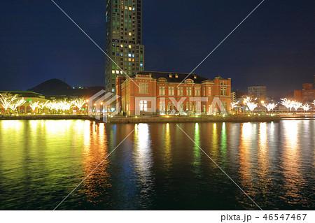 冬の門司港レトロ 福岡県北九州市門司区 46547467