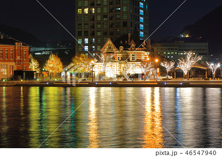 冬の門司港レトロ 福岡県北九州市門司区 46547940
