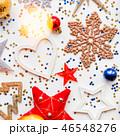 クリスマス 新年 平面図の写真 46548276