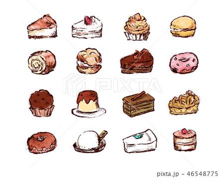 ケーキ集合 46548775