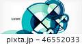 抽象的 丸 円のイラスト 46552033