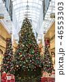 クリスマスツリー クリスマス 飾りの写真 46553303