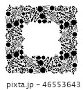 フローラル ベクター リーフのイラスト 46553643