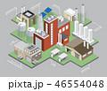 レイアウト 工場 製造所のイラスト 46554048