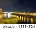 海 ネオン 夜の写真 46554524