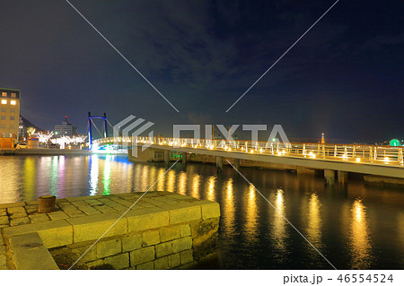 冬の門司港レトロ 福岡県北九州市門司区 46554524