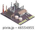 工場 機器 建物のイラスト 46554955