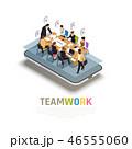 ビジネス 職業 会社のイラスト 46555060