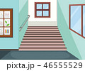 かいだん 階段 スクールのイラスト 46555529