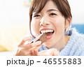 女性 チョコレート チョコの写真 46555883
