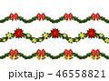クリスマス シームレス デザインのイラスト 46558821