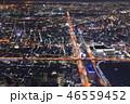 街並み 冬 夜景の写真 46559452