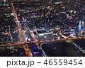 街並み 冬 夜の写真 46559454