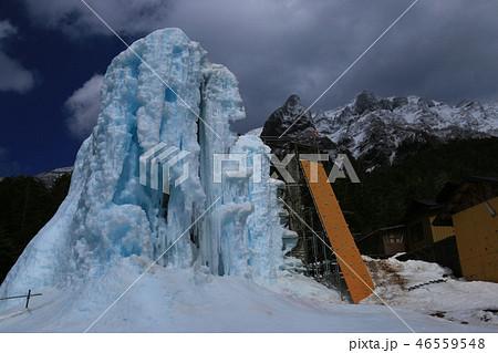 鉱泉 赤岳