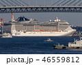 横浜港 ベイブリッジ 港の写真 46559812