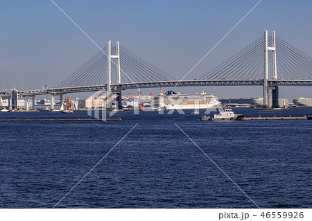 横浜港 46559926
