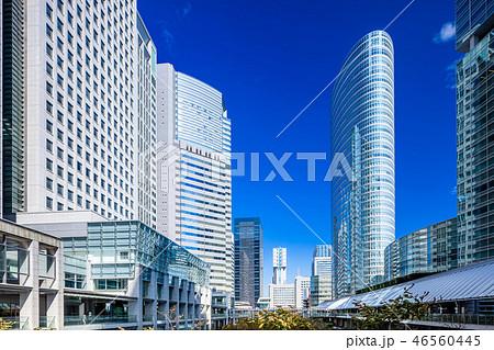 東京 品川駅周辺のビル群 46560445