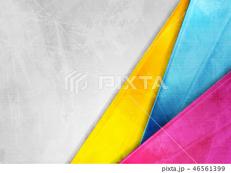 Grunge tech corporate colorful background 46561399