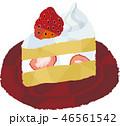 ケーキ デザート スイーツのイラスト 46561542