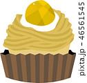 モンブラン ケーキ 菓子のイラスト 46561545