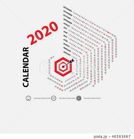 2020 Calendar Template.Calendar 2020  46563667