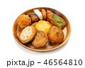 薩摩揚げ 練り物 魚肉練り製品の写真 46564810