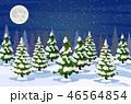ナイト 樹木 樹のイラスト 46564854