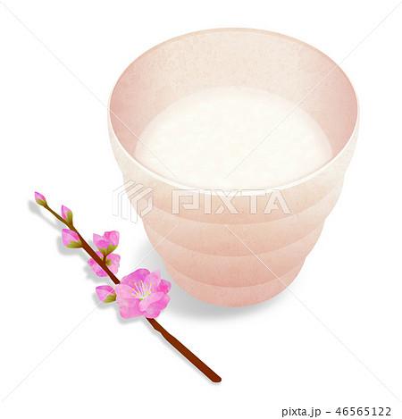 甘酒 桃の花(影あり) 46565122
