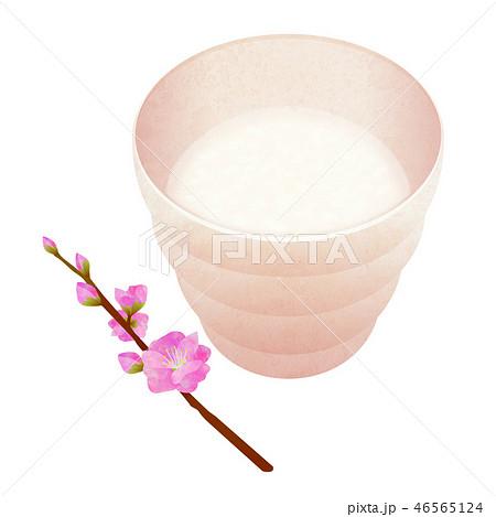 甘酒 桃の花(影なし) 46565124
