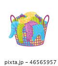 洗濯 洗濯物 ランドリーのイラスト 46565957