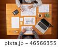 ビジネス 人々 人物の写真 46566355