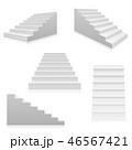 かいだん 階段 ベクタのイラスト 46567421