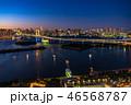 夜 アジア 都市風景の写真 46568787