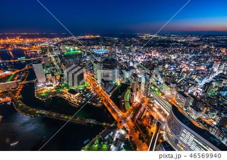 《神奈川県》横浜ベイエリア・トワイライト夜景 46569940