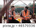 労働者 工事 建設の写真 46570336