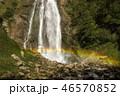 Waterfall Oniori in Georgia with rainbow in a sunny day. 46570852