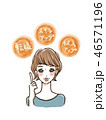 女性 転職 スキルアップのイラスト 46571196