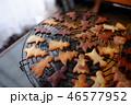 クッキー 食べ物 クリスマスツリーの写真 46577952