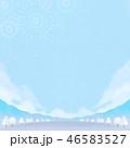 背景素材 野外イベント 冬 46583527