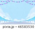 背景素材 野外イベント 冬 46583530