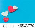 ハート ハートマーク 心臓の写真 46583770