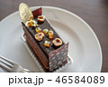 ホテルのチョコレートケーキ 46584089