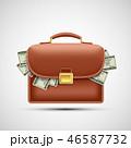 お金 通貨 金のイラスト 46587732
