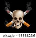 がん ガン キャンサーのイラスト 46588236